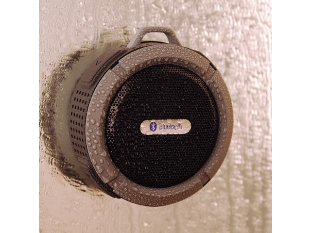 Victsing 065771 Mini 5W Waterproof Shockproof Dustproof A2DP Handsfree Bluetooth 3.0 Stereo Speaker with Suction Cup & Built-in Mic - Black