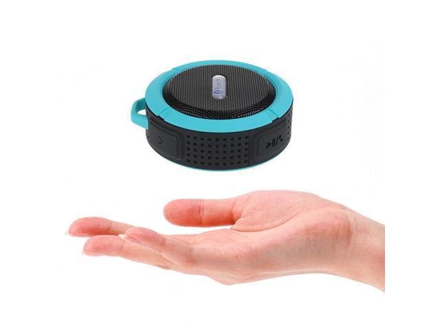 Blue Portable Waterproof Shockproof Dustproof Handsfree Bluetooth 3.0 A2DP Stereo Sport Speaker with Suction Cup & Built-in Mic for Samsung ...