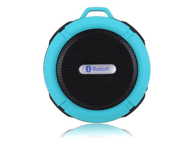 Blue Mini 5W Waterproof Shockproof Handsfree Bluetooth 3.0 A2DP Stereo Sport Speaker with Suction Cup & Built-in Mic for HTC One M7 M8 Nokia ...