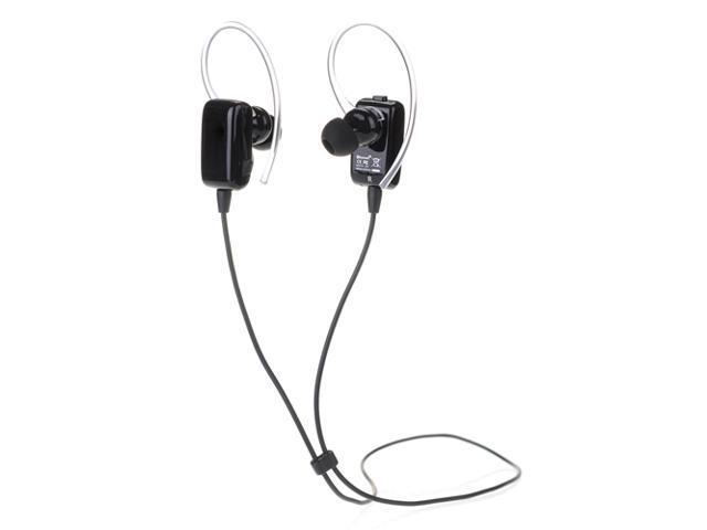 Black Wireless Sport Stereo Bluetooth 4.0 Handsfree Earphone Sweatproof Echo & Noise Canceling Headset Headphone for Samsung Galaxy S5 S4 S3 Note ...
