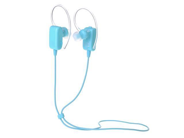 Blue Wireless Sport Stereo Bluetooth 4.0 Handsfree Earphone Sweatproof Echo & Noise Canceling Headset Headphone for Samsung Galaxy S5 S4 S3 Note ...