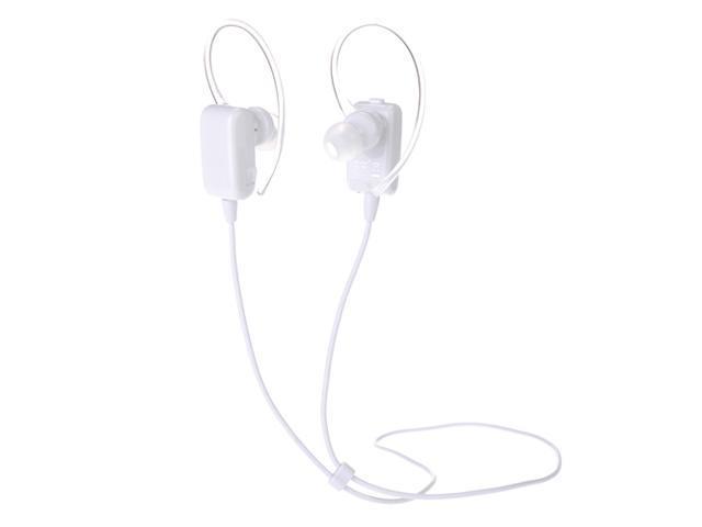 White Wireless Sport Stereo Bluetooth 4.0 Handsfree Earphone Sweatproof Echo & Noise Canceling Headset Headphone for Samsung Galaxy S5 S4 S3 Note ...