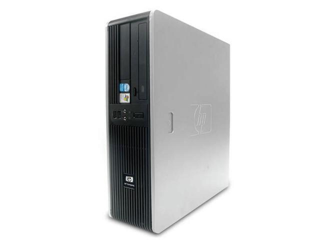 HP DC5800 Desktop Computer - 4GB Memory - Windows 7 Professional