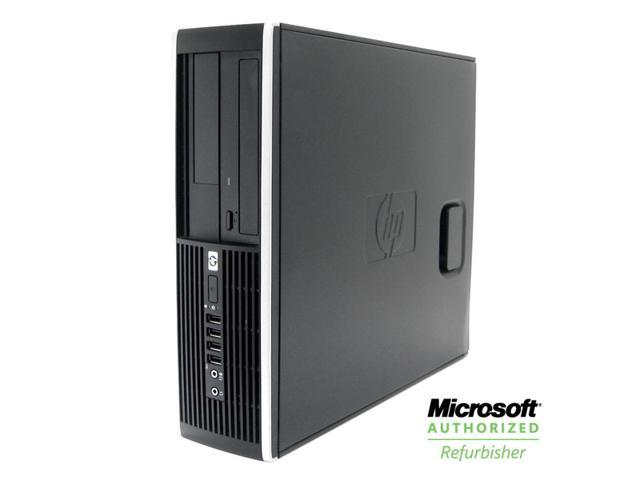 HP 8000 Elite Desktop PC - 2.9GHz Core 2 Duo, 4GB Memory, 160GB HDD, DVD, Windows 7 Professional