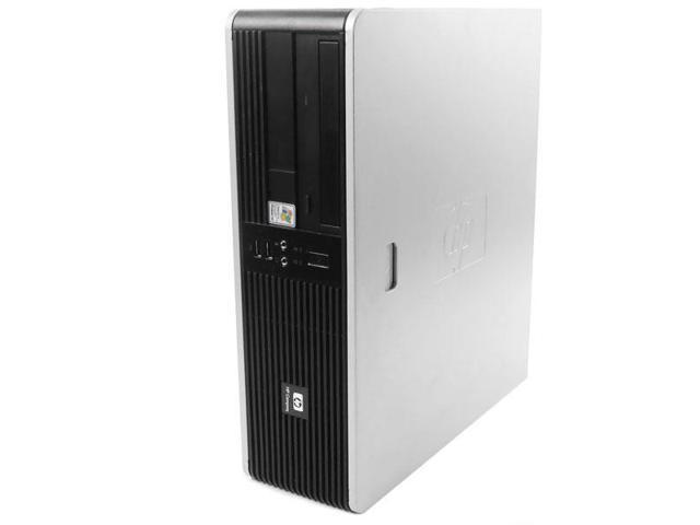 HP DC5850 PC Windows 7 Desktop Computer AMD Athlon X2 2.0 GHz 4 GB 160 GB