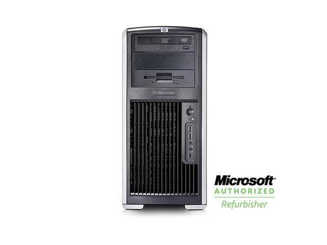 HP XW9400 PC Windows 7 Pro Desktop Computer AMD Opteron 2.5 GHz 16 GB 750 GB