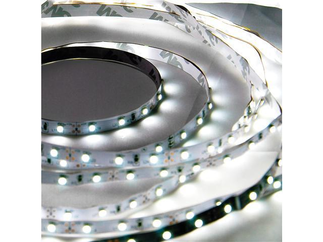 ABI Cool White Flexible LED Strip Light, SMD 3528, 5M Roll 60LED/M, Indoor Use
