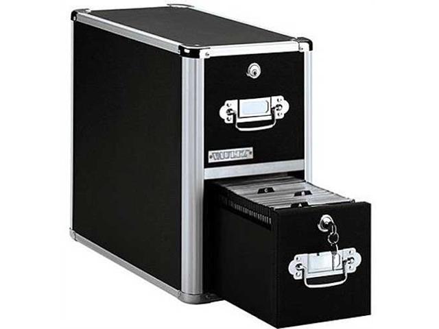 Vaultz Locking CD File Cabinet - 2 Drawers