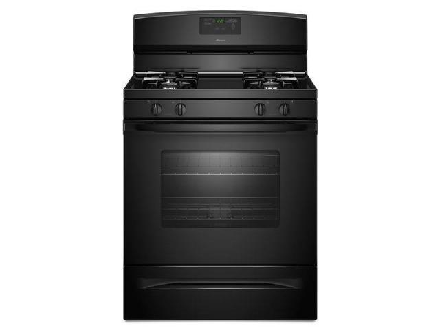 Amana AGR5630BDB: 5.0 cu. ft. Gas Oven Range with Easy Touch Electronic Controls - black