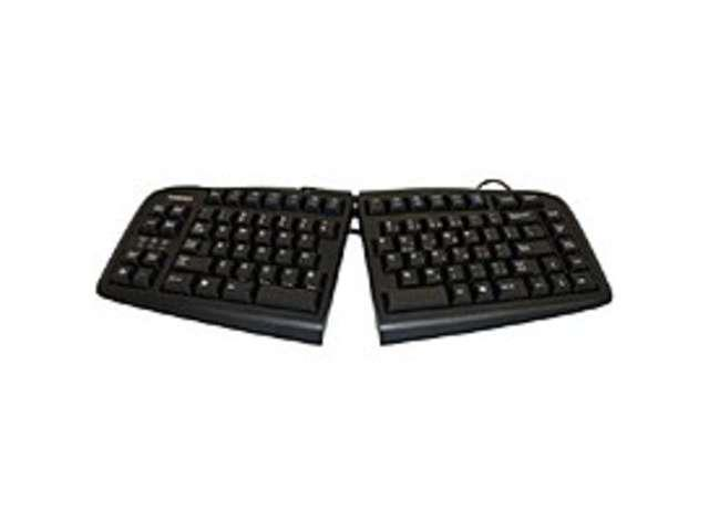 Goldtouch V2 Adjustable GTN-0099 Wired Keyboard - USB - Black