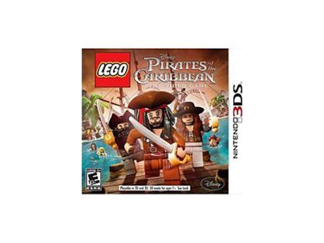 Disney 712725021177 Lego Pirates of the Caribbean for Nintendo 3DS
