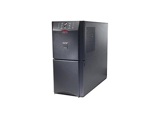 APC Smart-UPS SUA2200 10 Outlets Line-interactive UPS - 2200 VA - 1980 Watts - 8 x NEMA 5-15R, 2 x NEMA 5-20R - Black