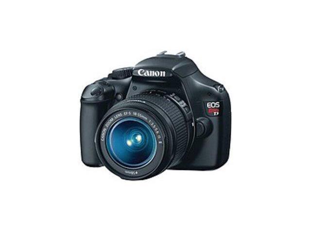 Canon EOS 5157B002 Rebel T3 12.2 Megapixels Digital SLR Camera - 3x Optical Zoom - 2.7-inch LCD Display - SD Card - Black