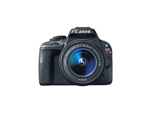 Canon EOS Rebel 8575B003 SL1 18.0 Megapixels Digital SLR Camera - 3x Optical Zoom - 3-inch LCD Display - Black