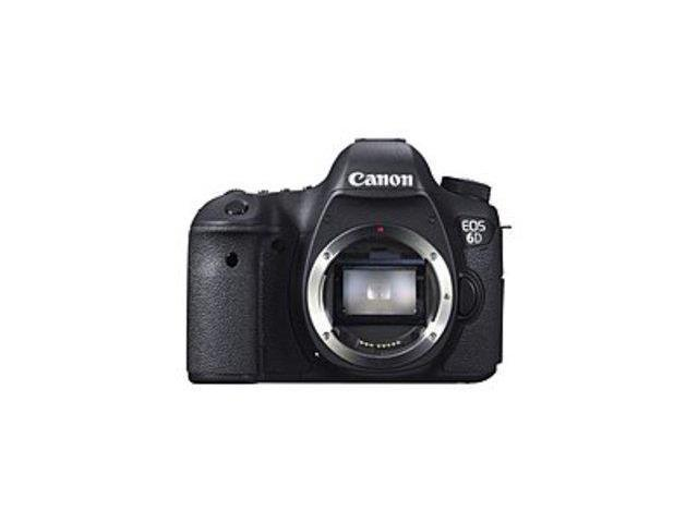 Canon EOS 8035B002 6D 20.2 Megapixels CMOS Digital SLR Camera - 3-inch LCD Display