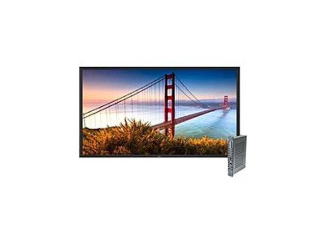 NEC MultiSync X Series X552S-PC 55-inch Digital Signage Solution with Single Board Computer - 1080p - Widescreen - 16:9 - 500 cd/m2 - 3000:1 - ...