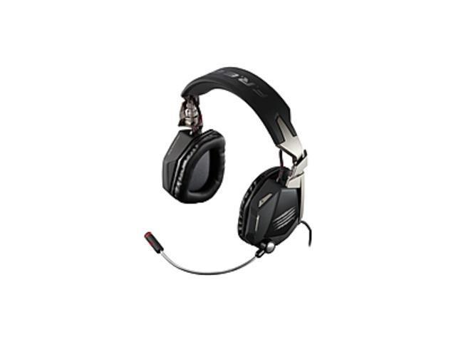 Mad Catz F.R.E.Q. 7 Surround Sound Gaming Headset for PC - Matte Black - Surround - Matte Black - Mini-phone, USB - Wired - Over-the-head ...