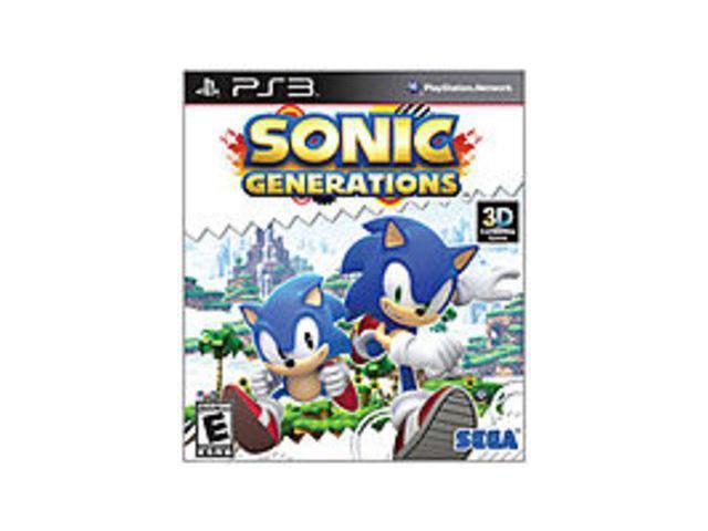 Sega Sonic Generations - Action/Adventure Game - PlayStation 3