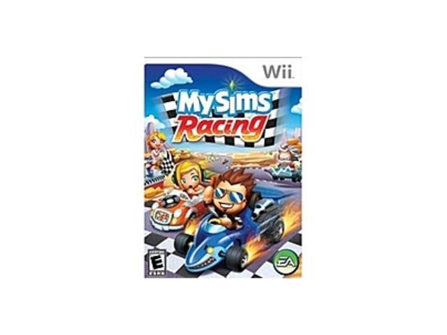 EA MySims Racing Bundle - Racing Game Retail - Wii
