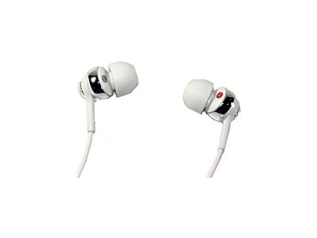 Sony EX Series MDR-EX110AP/W Earbud Headphones with Microphone - White