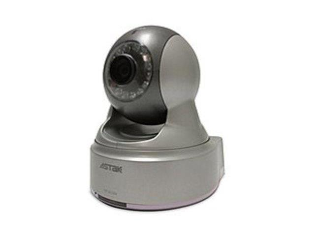 Astak CM-IP500 Pan/Tilt Internet Security Camera with Audio - MPEG-4 - Wired - Motion Sensing