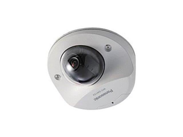 Panasonic WVSW152 Super Dynamic SVGA Vandal Resistant Fixed Dome Network Camera - 800 x 600 Pixels - 30 fps