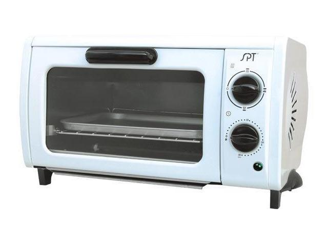 Sunpentown SO-1004 950 Watt Multi-Functional Pizza Oven with 30 Minute Timer and Non-Stick Interior, White
