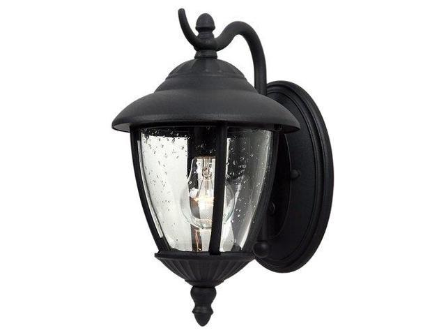 Sea Gull Lighting One Light Outdoor Wall Fixture in Black - 84069-12