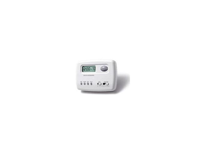 White-Rodgers 1F78-151 Digital 5/2 Day Programmable Thermostat with Energy Manag