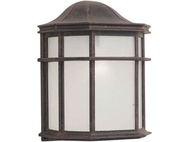 Forte Lighting 17006-01 Contemporary / Modern Energy Efficient Fluorescent 8Wx10, Painted Rust
