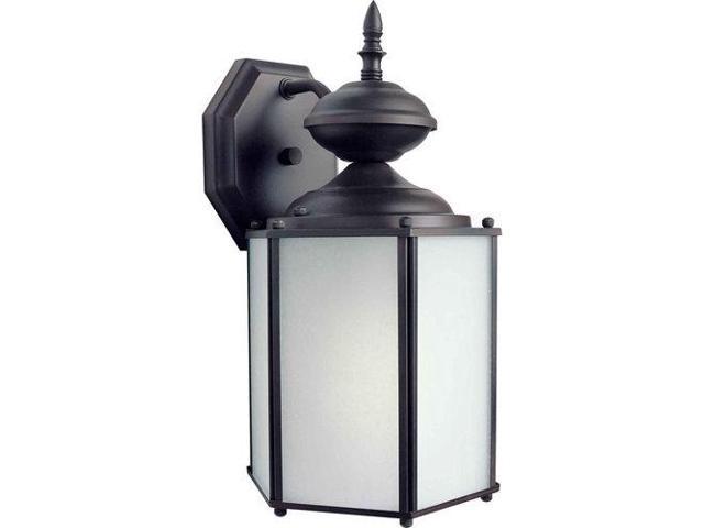 Forte Lighting 10036-01 Classic / Traditional Energy Efficient Fluorescent Outdo, Antique Bronze