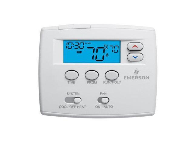 White-Rodgers 1F80-0224 Digital 24 Hours Programmable Thermostat with Millivolt