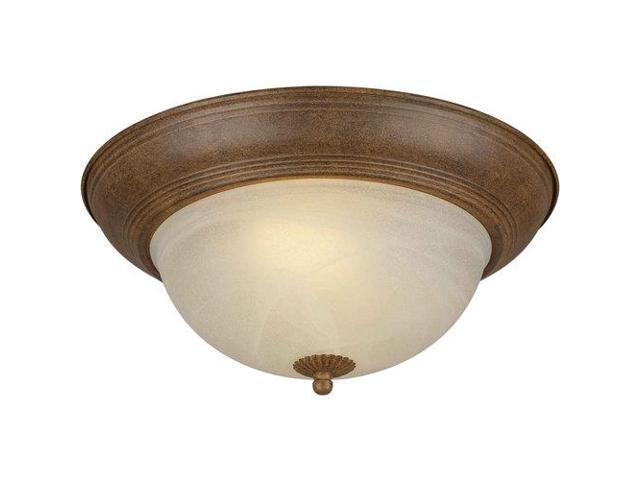 Forte Lighting 20008-02-17 Ceiling Fixtures , Indoor Lighting, Chestnut