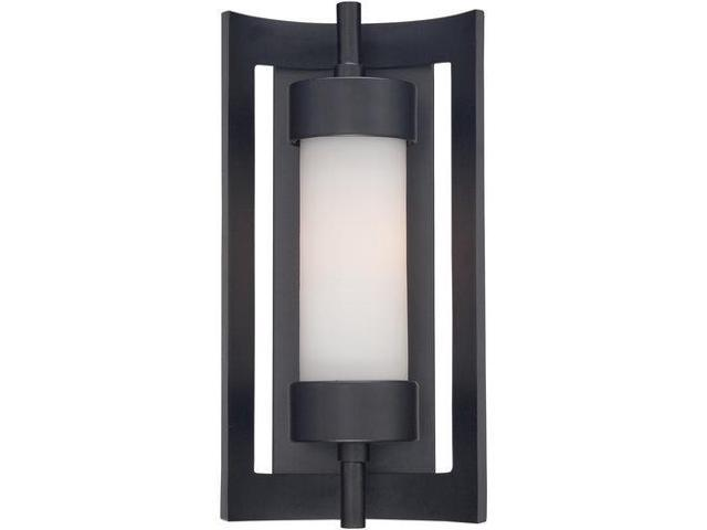 Quoizel 1 Light Milan Outdoor Fixture in Mystic Black - MLN8307K