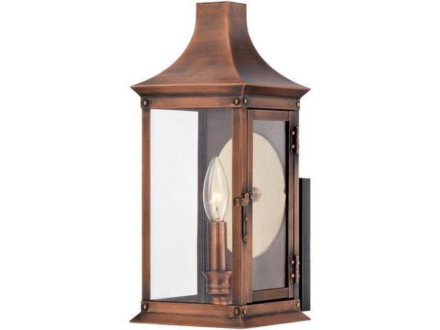 Quoizel 1 Light Salem Outdoor Fixture in Aged Copper - SLM8306AC