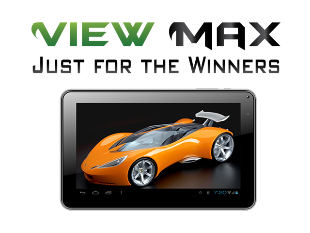 ViewMax ® Tablet PC 9