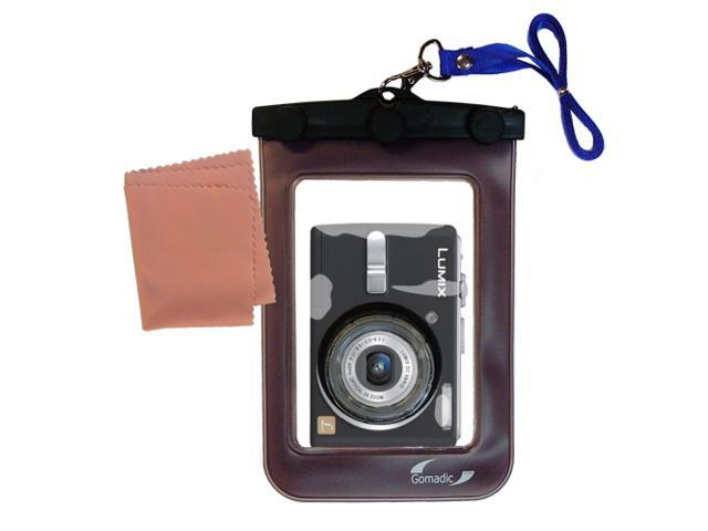 Waterproof Camera Case compatible with the Panasonic Lumix DMC-LS75
