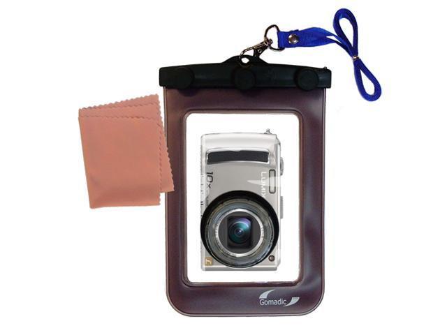 Waterproof Camera Case compatible with the Panasonic Lumix DMC-TZ15