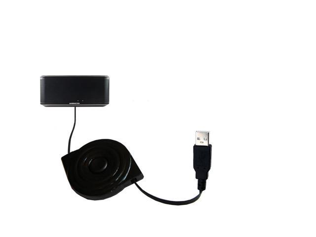 Retractable USB Power Port Ready charger cable designed for the Monster Inspiration Micro and uses TipExchange