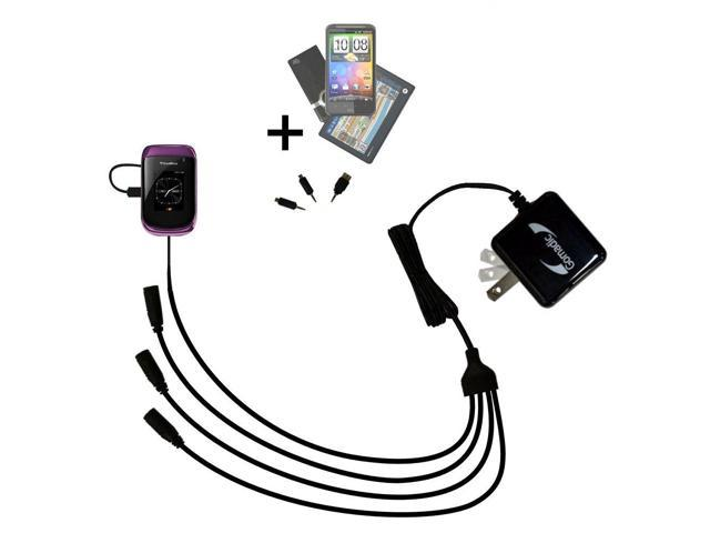 Quad output Wall Charger includes tip for the Blackberry Oxford