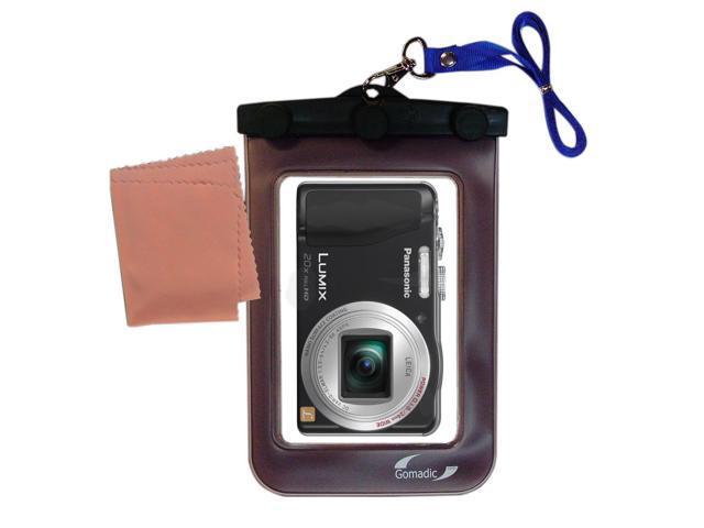 Waterproof Camera Case compatible with the Panasonic Lumix DMC-ZS19K