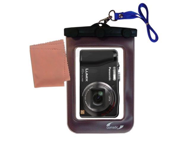 Waterproof Camera Case compatible with the Panasonic Lumix DMC-ZS20S