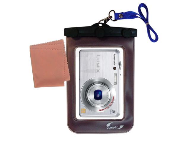 Waterproof Camera Case compatible with the Panasonic Lumix DMC-FH8S