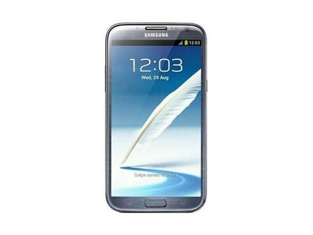 Samsung Galaxy Note 2 N7100 Factory Unlocked Quad Band Tablet (Grey)
