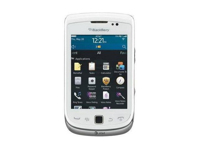 Blackberry Torch 9810 Silver 3G Unlocked GSM Phone (White)