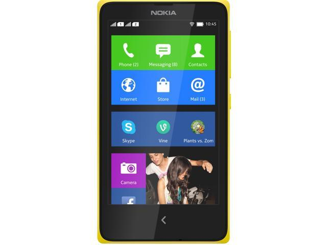 Nokia XL Dual SIM Unlocked Smart Phone RM-1030 Dual Core 4GB Yellow