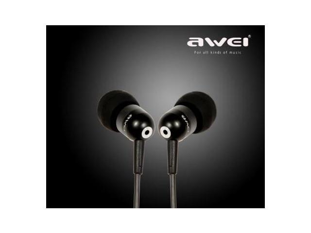 Super Bass Noise Cancelling Headphone Earphone with Mic For iPhone4s Awei Q8i