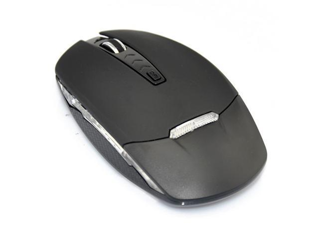 Bluetooth 3.0 4D 4 Buttons 1 Wheel Wireless PC Notebook Mouse 800/1200/1600 adjustable DPI Black