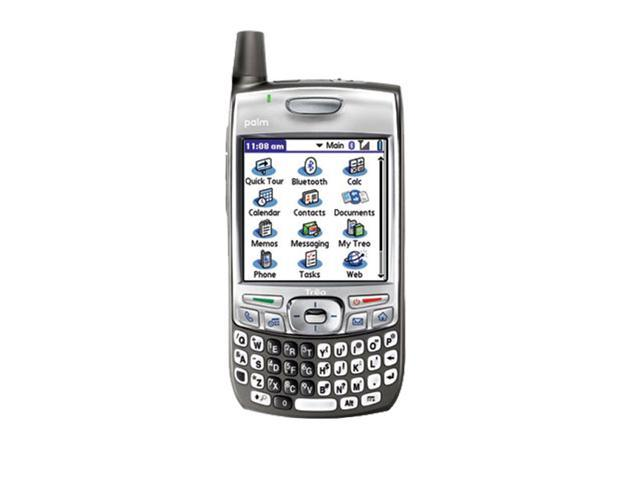 New Palm Treo 700p Verizon Gray Palm OS PDA Smartphone Qwerty Keypad Easy To Use - OEM