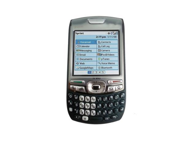 Palm Treo 755p Telus Mobility Black WebOS Easy To Use Smartphone Full QWERTY - OEM